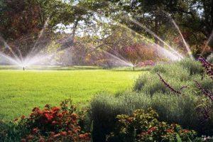 Автоматический полив сада