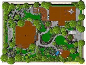 Цены на проект планировки, ландшафтного дизайна дачного участка. 2021 год.