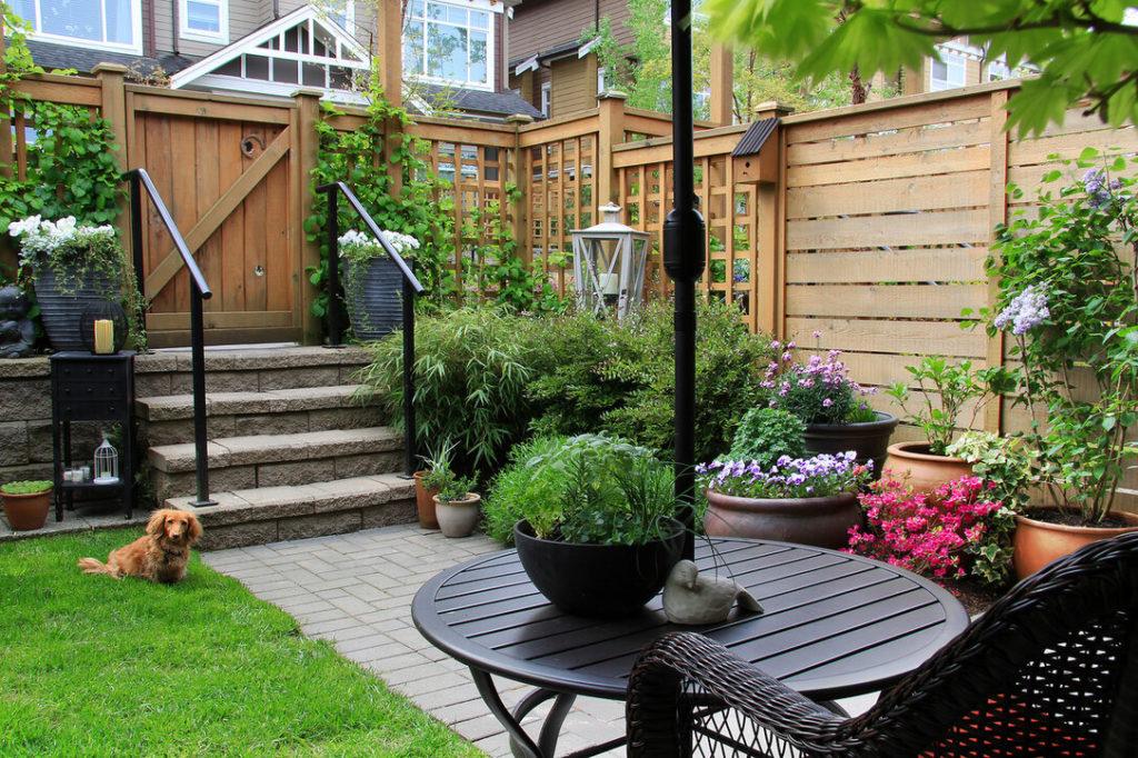 Планировка сада - тщательно выбирайте растения